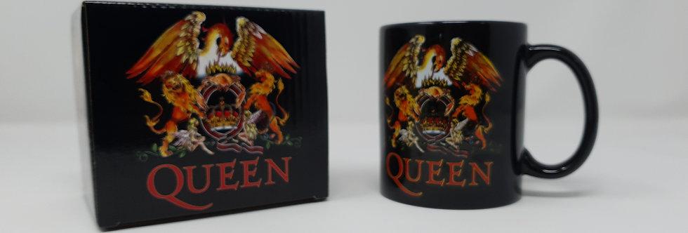 Queen Logo Boxed Mug
