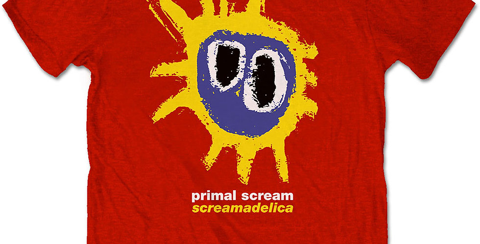 Primal Scream Screamadelica Red