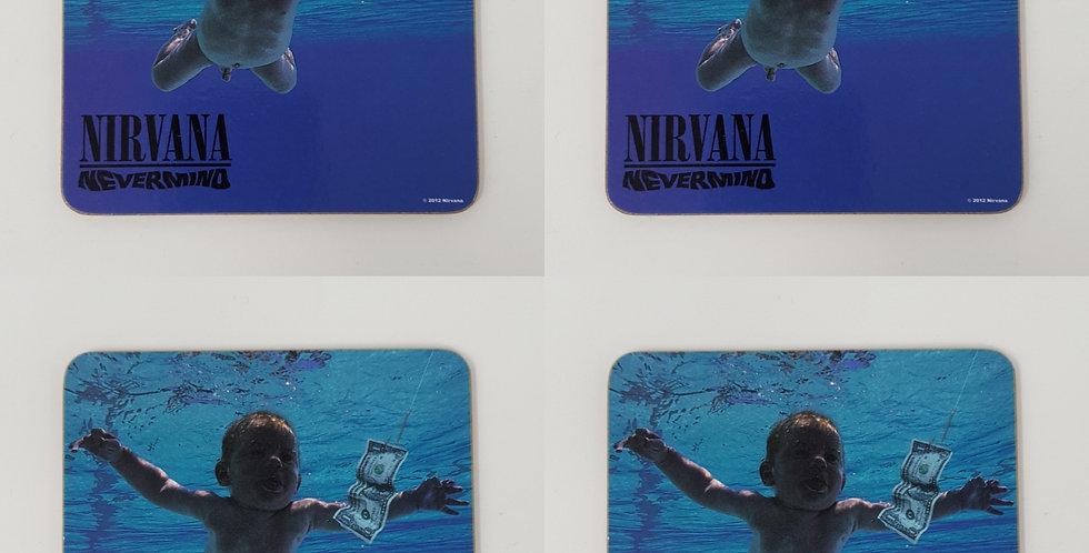 Set of 4 Nirvana Nevermind Coaster