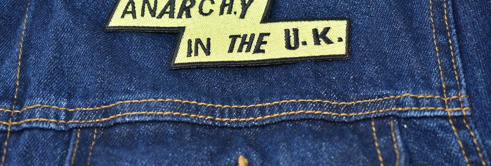 Sex Pistols Anarchy in The Uk Embroidered patch