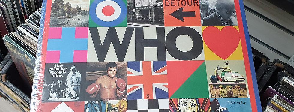 The Who Who Coloured Vinyl Album