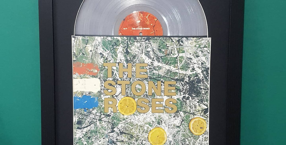 The Stone Roses vinyl album display