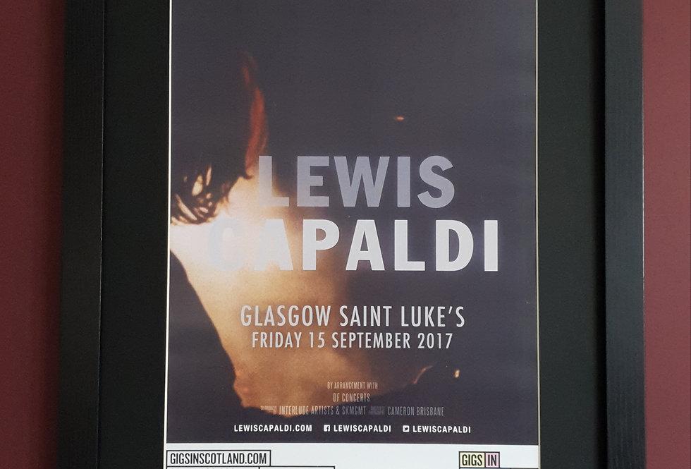 Lewis Capaldi Glasgow St Lukes 2017 Gig