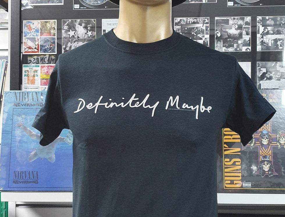 Oasis Definitely Maybe T-shirt