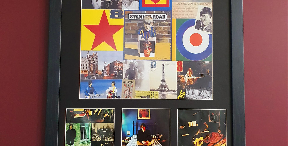 Paul Weller Stanley Rd album artwork display