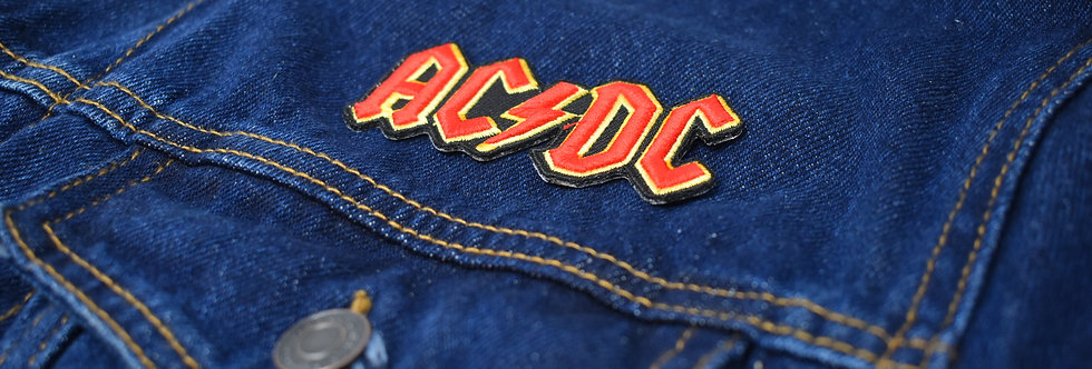 AC/DC Embroidered patch