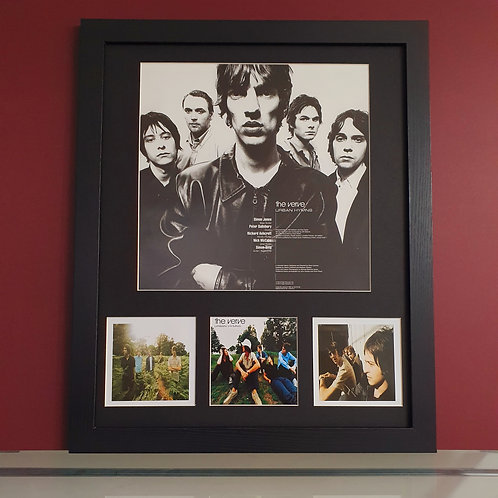 The Verve Urban Hymns album artwork display