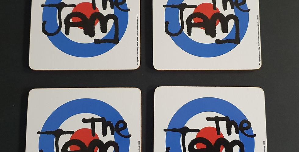 Set of 4 The Jam Logo Coasters