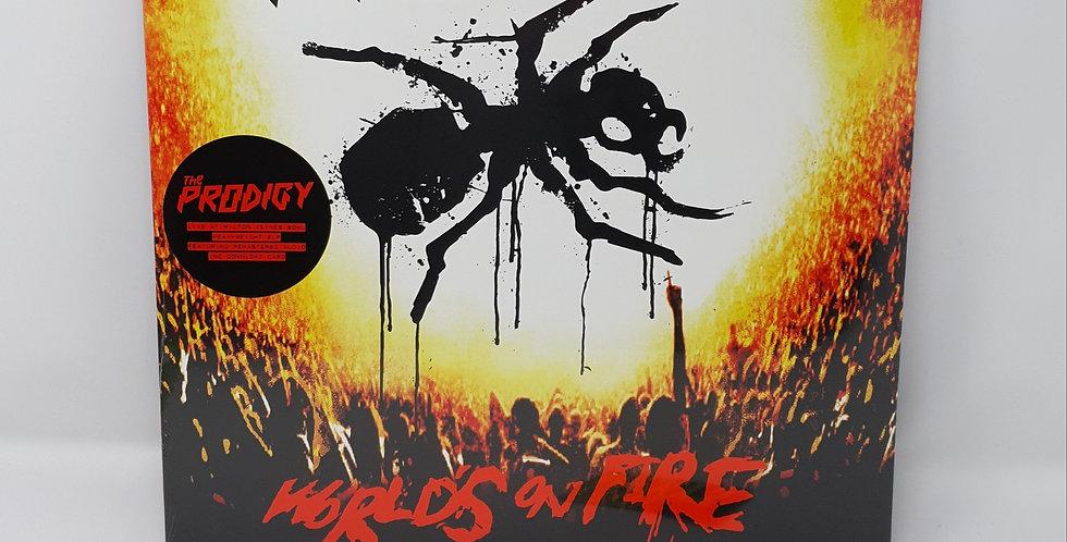 The Prodigy Worlds On Fire Vinyl Album