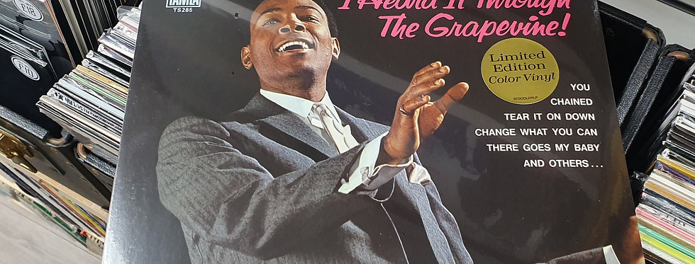 Marvin Gaye I Heard It Through The Grapevine Coloured Vinyl Album