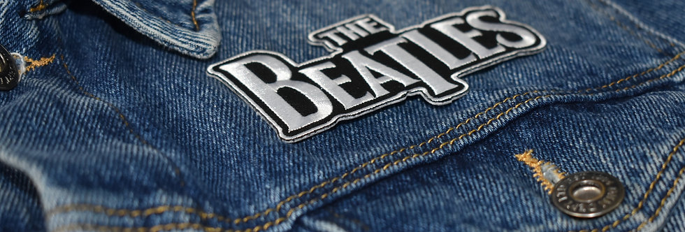 The Beatles Logo Embroidered patch