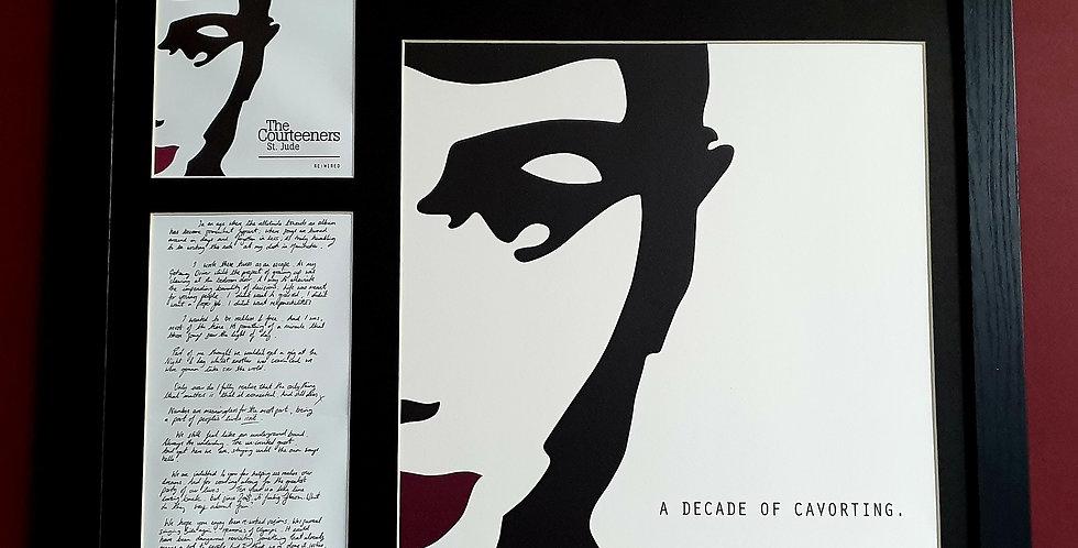 St Jude Rewired album artwork display