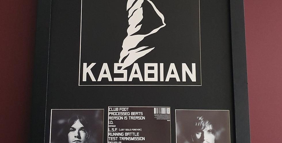 Kasabian album artwork display