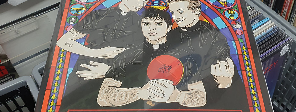 Green Day Greatest Hits God's Favourite Band Vinyl Album