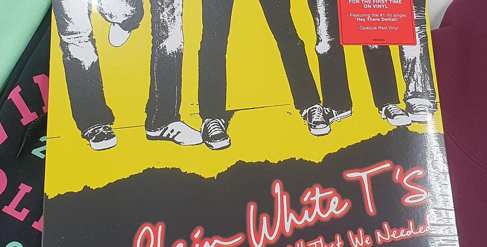 Plain White T's All That We Need Vinyl Album