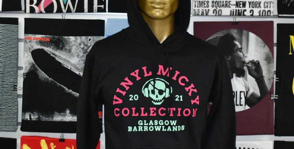 Vinyl Micky Collection Hoodie (Black)