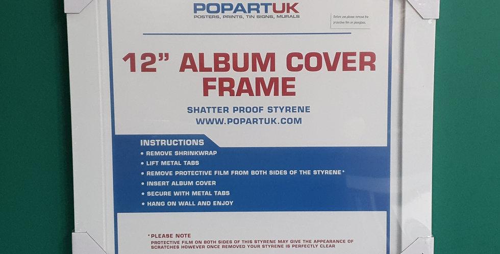 "12"" Record Sleeve Frame White"