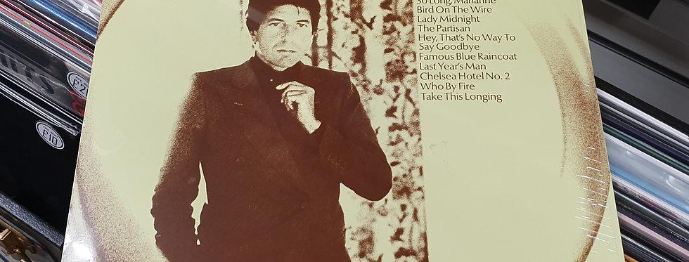 Leonard Cohen Greatest Hits Vinyl Album