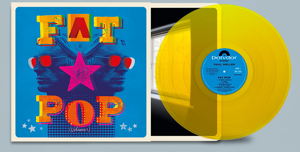 Paul Weller Fat Pop Colour Vinyl