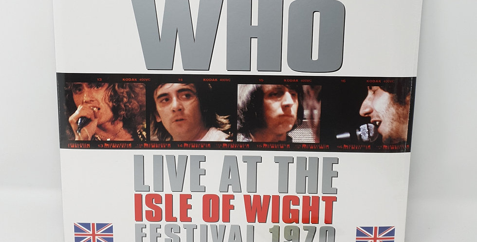 The Who Live At The Isle Of Wight Festival 1970 Blue Triple Vinyl Album