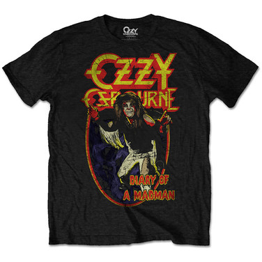 OZZY OSBOURNE DIARY OF A MAD MAN T-SHIRT £17
