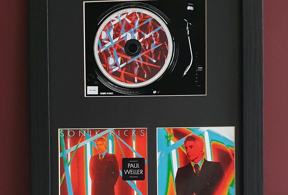 Paul Weller Sonik Kicks cd album display