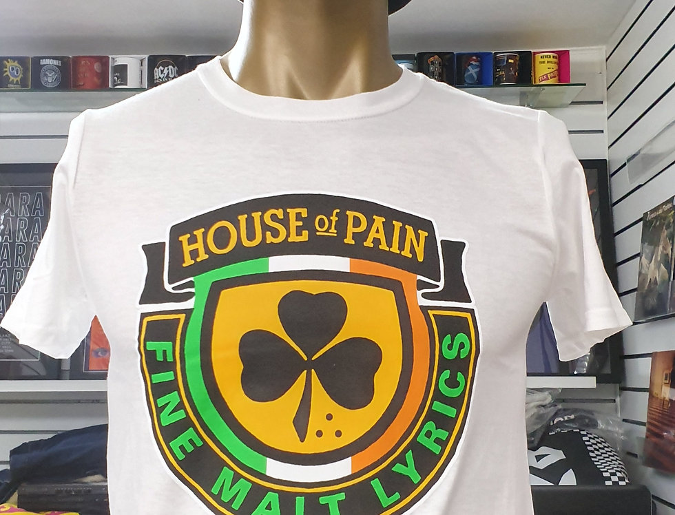 House of Pain T-shirt (white)