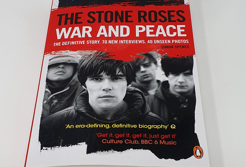 Stone Roses War And Peace Book