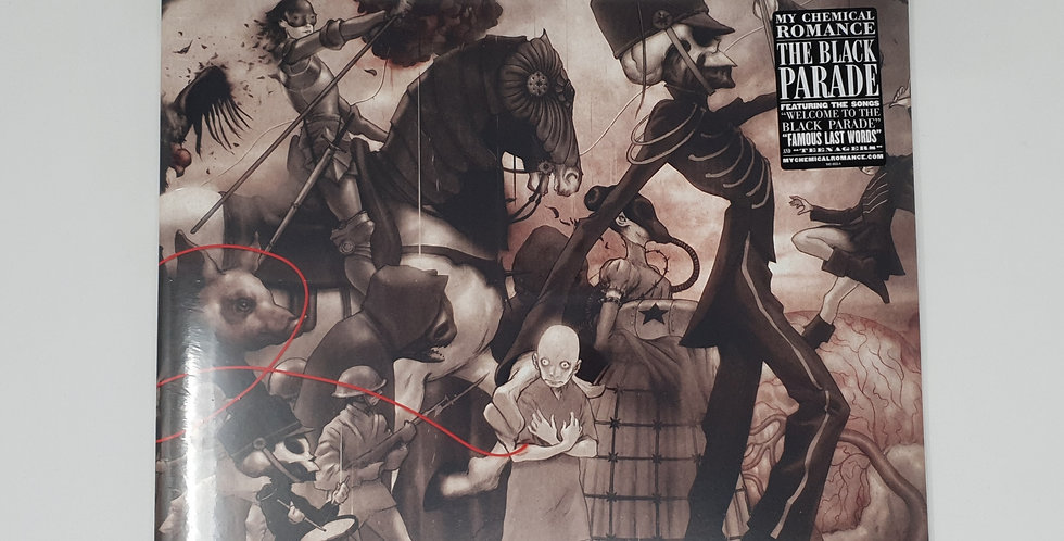 My Chemical Romance The Black Parade Vinyl Album
