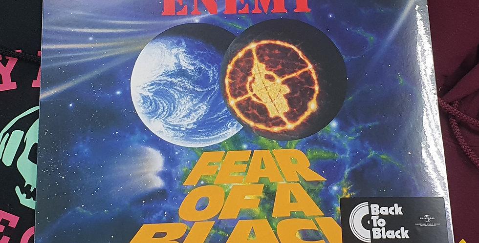 Public Enemy Fear Of A Black Planet Vinyl Album