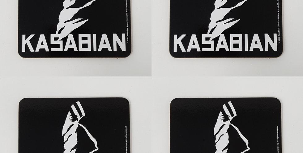 Set of 4 Kasabian Coaster