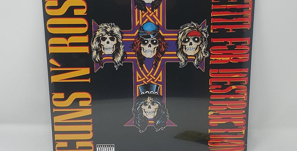 Guns N Roses Appetite For Destruction Vinyl Album