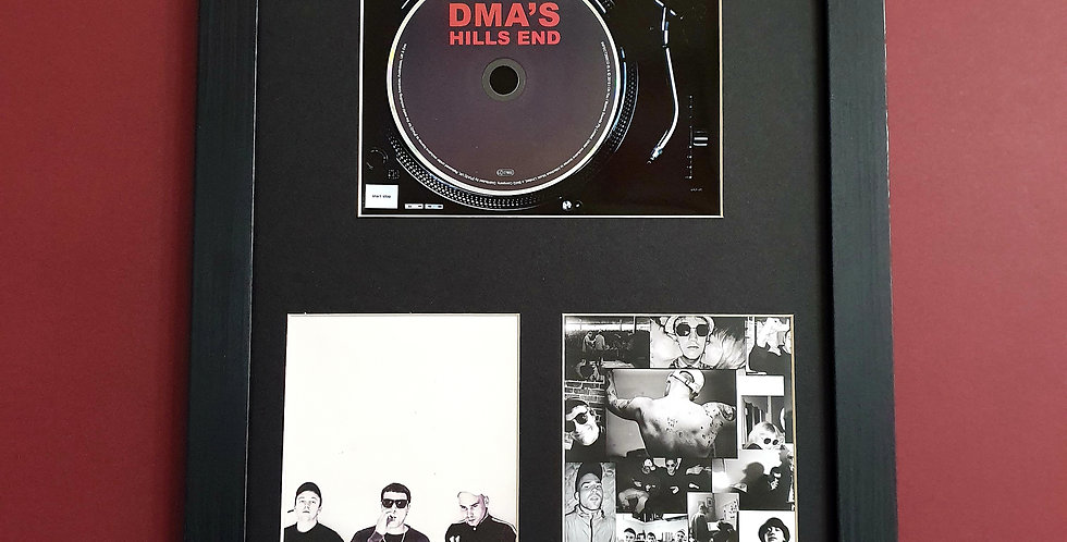 DMA'S Hills End cd album display