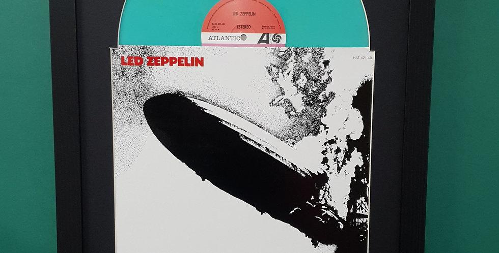 Led Zeppelin vinyl album display