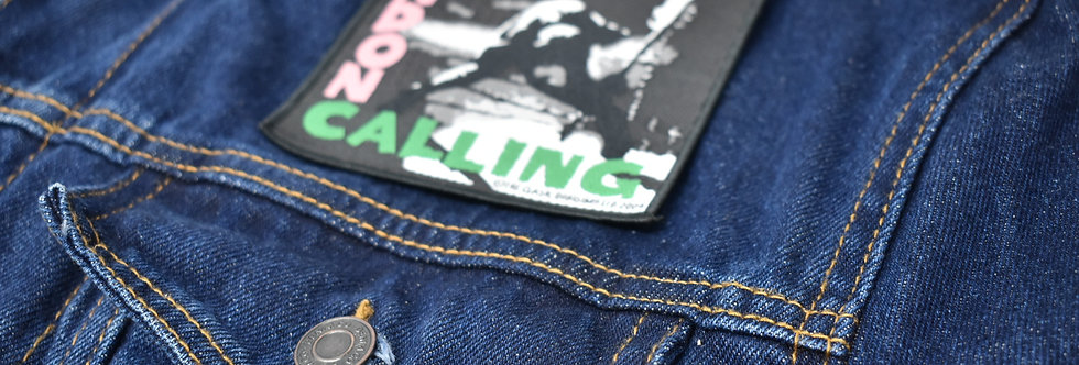 The Clash London Calling Sew On Embroidered patch
