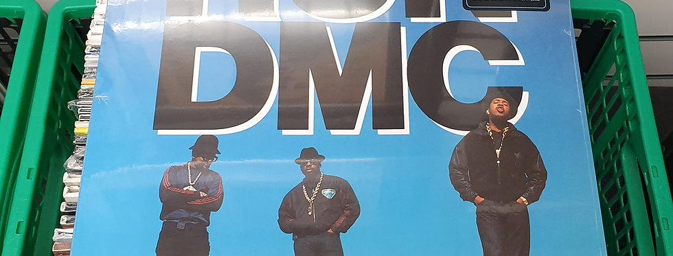 RUN DMC Tougher Than Leather Vinyl Album