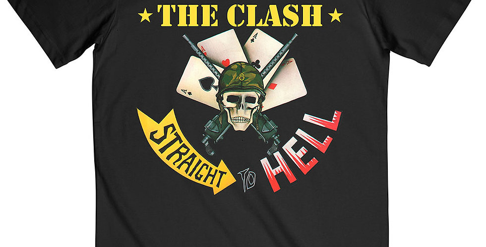 The Clash Straight To HellT-shirt