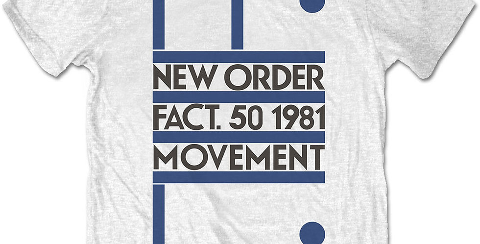 New Order Movement official Tshirt