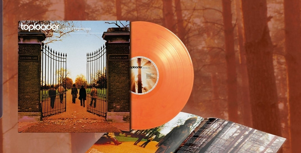 Toploader Onka's Big Moka Limited Edition Orange Vinyl Album