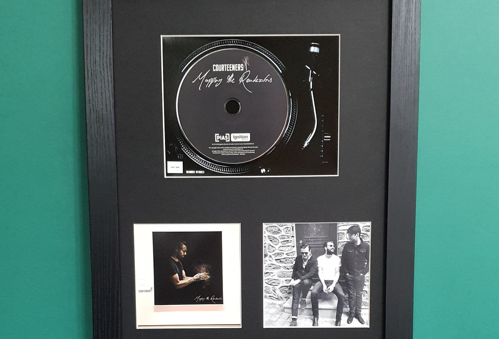 Courteeners Mapping the Rendevous cd album display