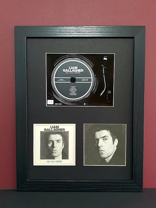 LG As you were cd album display