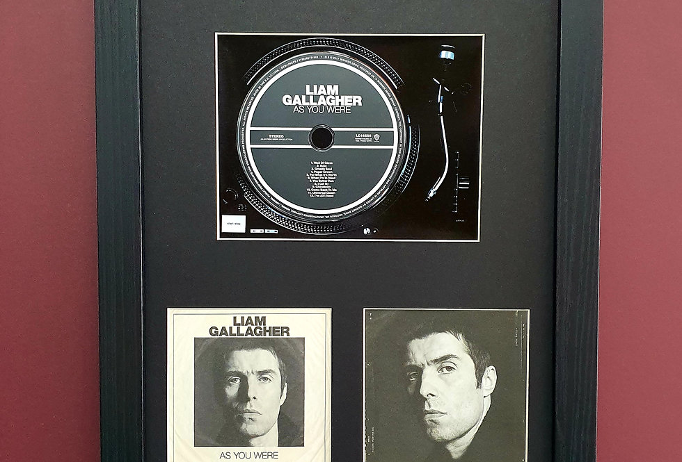 Liam Gallagher As you were cd album display