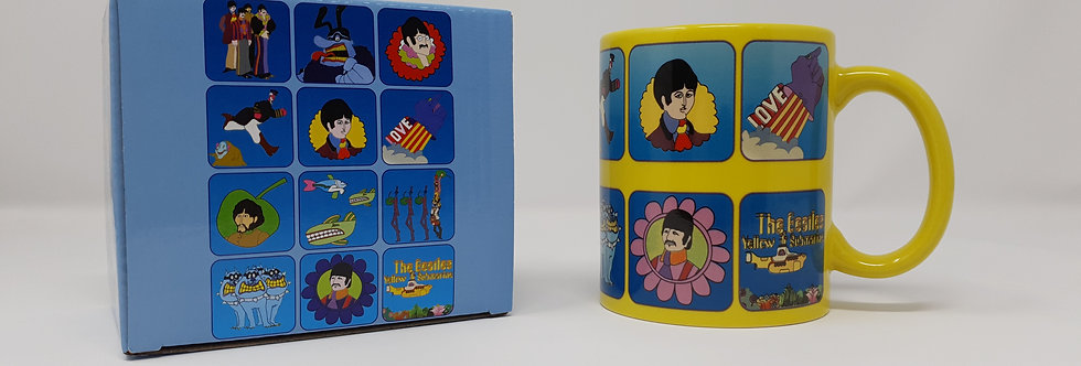 The Beatles Yellow Submarine Boxed Mug