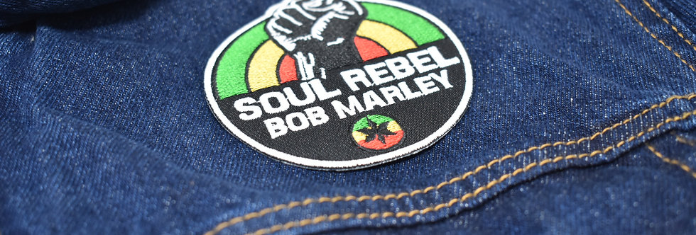Bob Marley Soul Rebel Embroidered patch