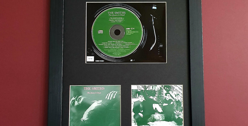 The Smiths The Queen is dead cd album display