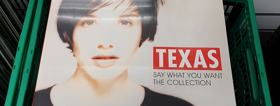 Texas Say What You Want The Collection Vinyl Album