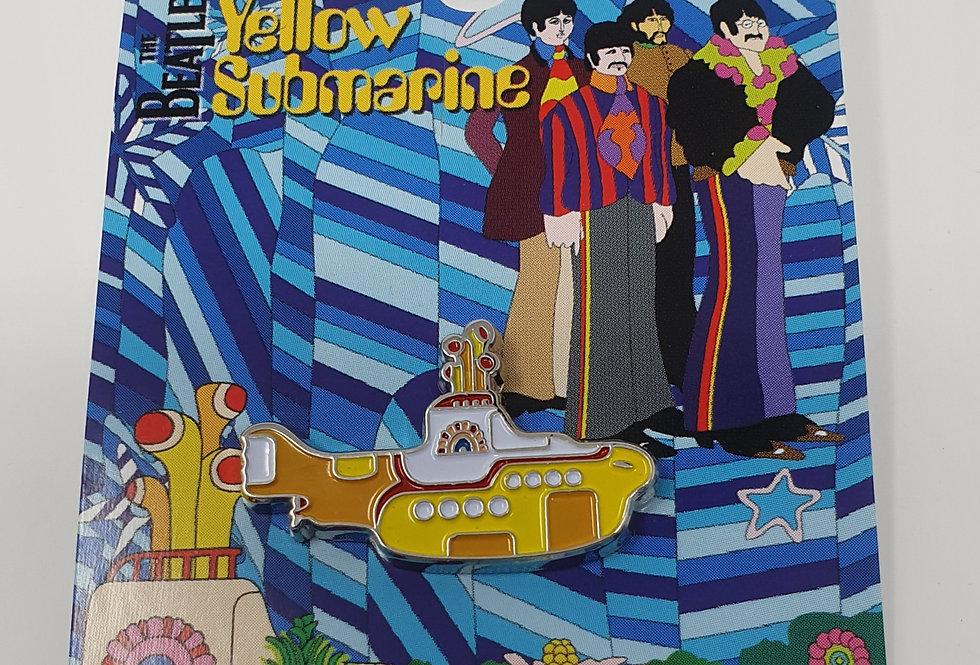 THE BEATLES PIN BADGE: YELLOW SUBMARINE