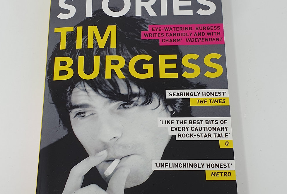Tim Burgess Telling Stories Book