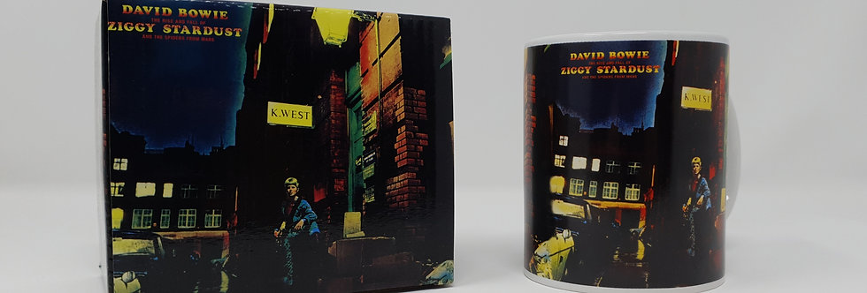 David Bowie Ziggy Stardust Boxed Mug