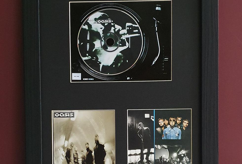 Oasis Heathen Chemistry cd album display